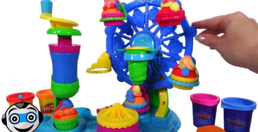 Noria de Cupcakes Play-Doh