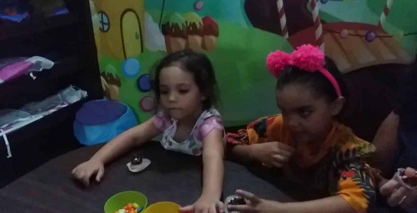 Oficina de Cupcake com a Princesa Ana Frozen
