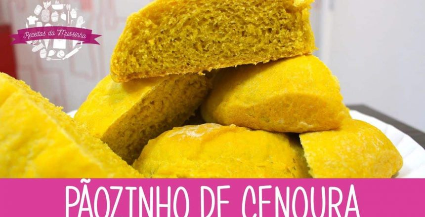 PÃOZINHO DE CENOURA - Episódio 140 - Receitas da Mussinha