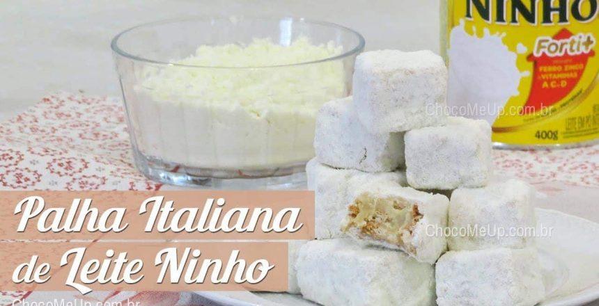 PALHA ITALIANA DE LEITE NINHO | Receita