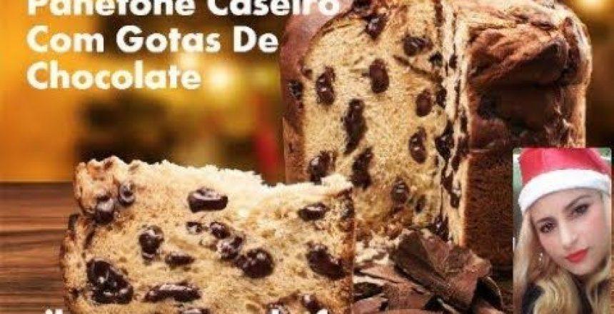 PANETONE CASEIRO COM GOTAS DE CHOCOLATE VJA