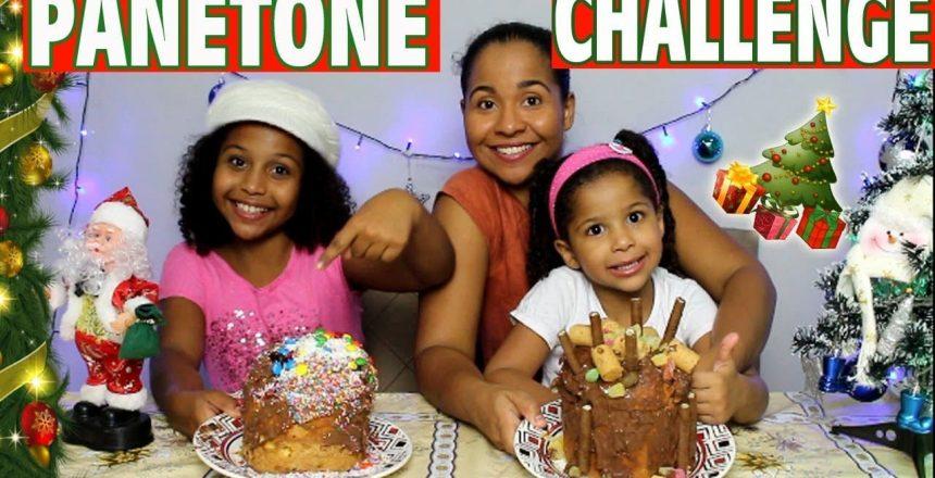 PANETONE CHALLENGE !! DESAFIO DO PANETONE !! MARYANE ALMEIDA