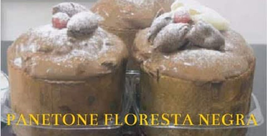 PANETONE FLORESTA NAGRA   CHEF RONALDO ZARA