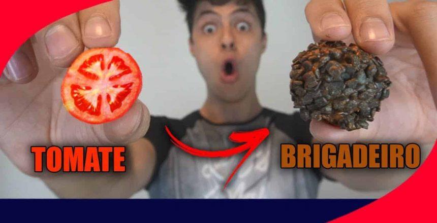 PEGADINHA DO BRIGADEIRO DE TOMATE!! (NOJENTO)