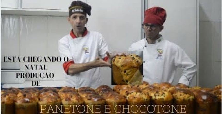 PRODUÇÃO DE PANETONE E CHOCOTONE   CHEF RONALDO ZARA