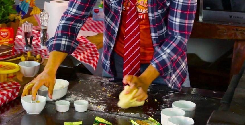 Pão Caseiro de Amendoim