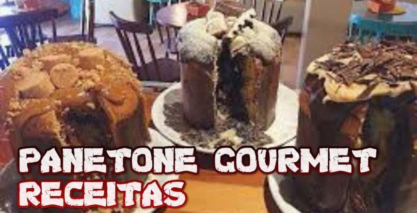 Panetone Gourmet Receitas caseiras Como fazer panetone Gourmet aprende a fazer panetone gourmet