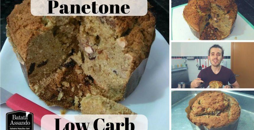 Panetone Low Carb 2.0 - Receitas Especiais para o Natal | Batata Assando