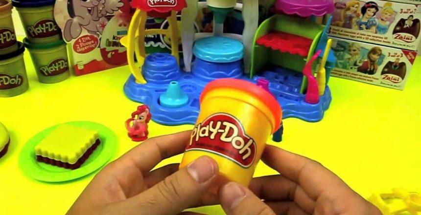 Play doh Ice Cream Cupcake Disney Princess Frozen Elsa Anna My little Pony