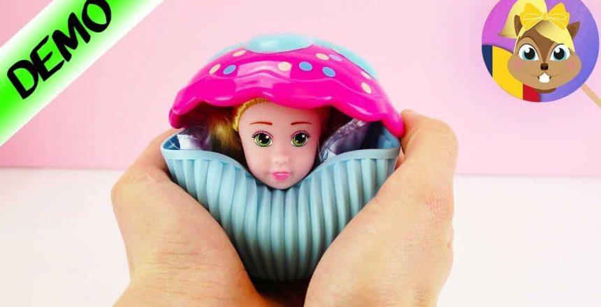 Prințesă Cupcake Surprise 2 în1 - Cupcake care se transformă în păpușă