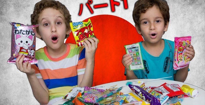 Provando Doces Japoneses com Paulinho e Toquinho para Crianças - Parte 1