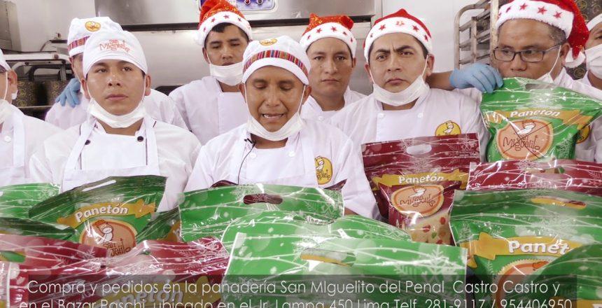 Prueba el panetón San Miguelito y quedarás preso del sabor