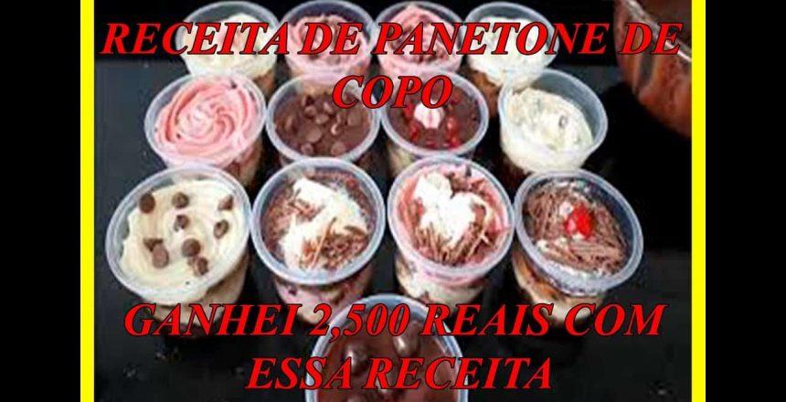 😍😋RECEITA De Panetone de POTE Caseiro Recheio Ganhar DINHEIRO com PANETONE Lucrativo Gourmet Renda