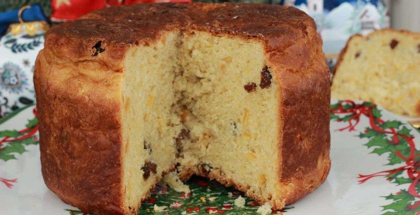 RECEPT ZA PANETONE - italijanski božićni kruh