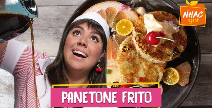 Rabanada americana: aprenda a fazer french toast de PANETONE | Raíza Costa | Rainha da Cocada