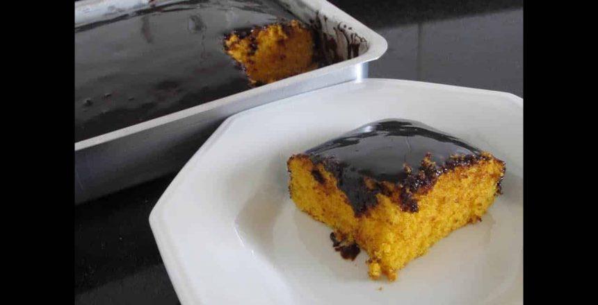 Receita: Bolo de Cenoura com Chocolate fácil - Jack Guedes