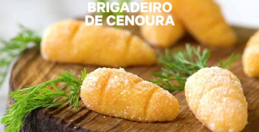 🔴 Receita - Brigadeiro de Cenoura