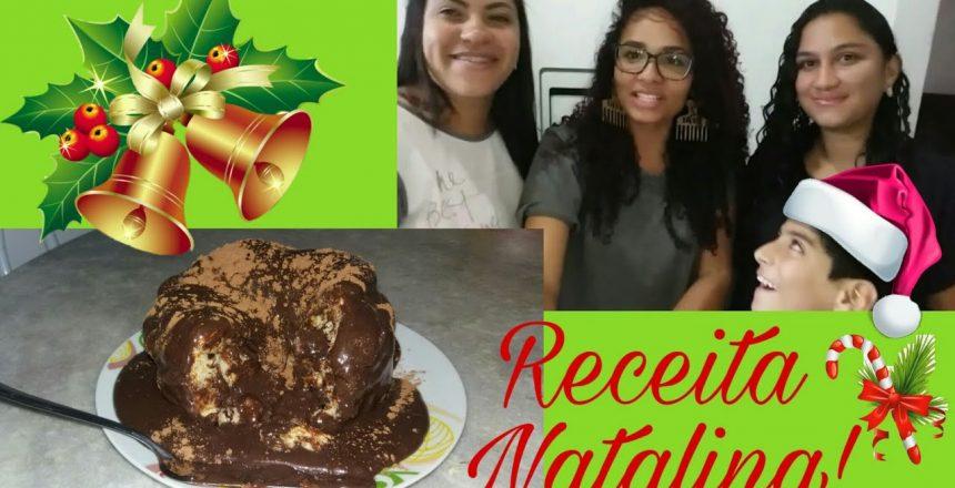 Receita Natalina | Panetone Trufado + Muitas risadas!!!😂❤