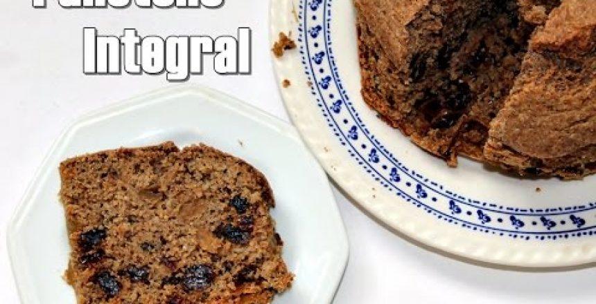 Receita- Panetone Integral | sem leite,sem açúcar,sem manteiga!
