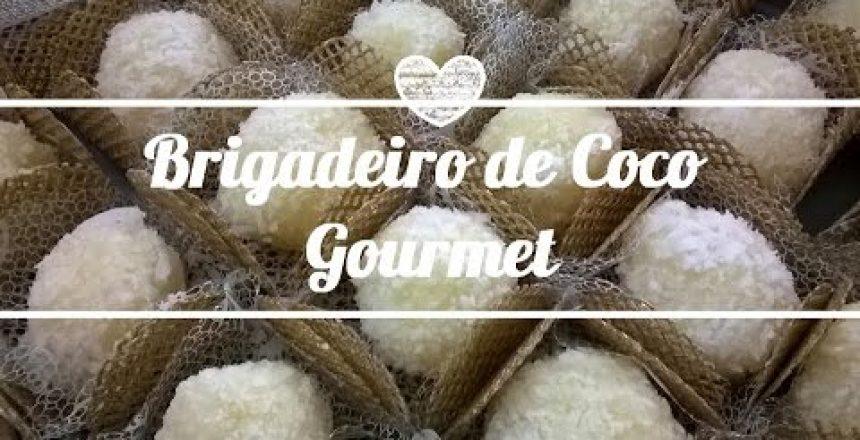 Receita de Brigadeiro de Coco Gourmet