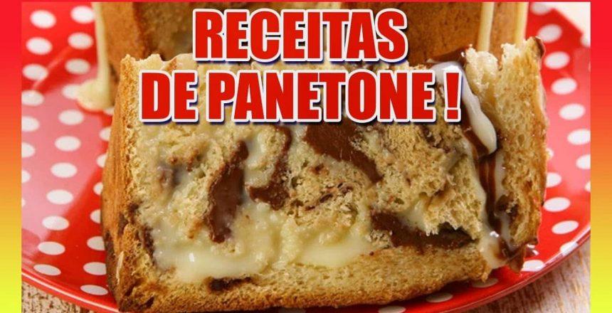 Receita de Panetone - Como fazer chocotone e panetone - receita fácil