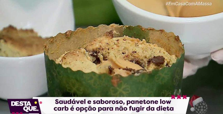 Receita de panetone low carb - Destaque Ponta Grossa (14/12/2020)