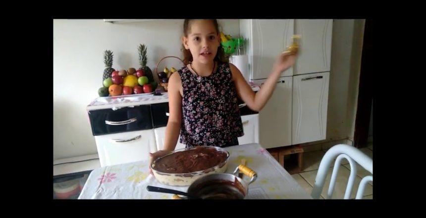 Receita de torta de panetone - o universo de Sarah