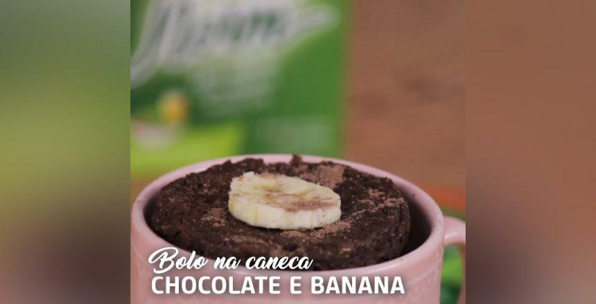 Receitas do Equilíbrio - Bolo na Caneca Chocolate com Banana | FiberNorm