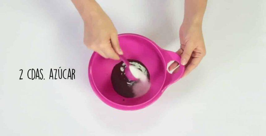 Receta de Cupcake de Chocolate en microondas