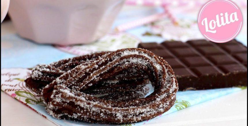 Receta de churros de chocolate caseros - Como hacer churros fáciles con churrera