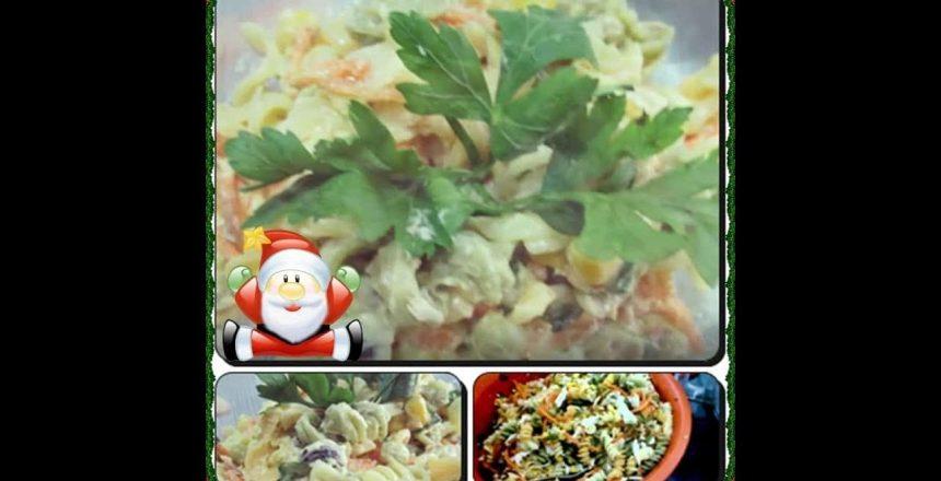 ????Salada de Macarrão(Macarronese)com Déby & Ian????