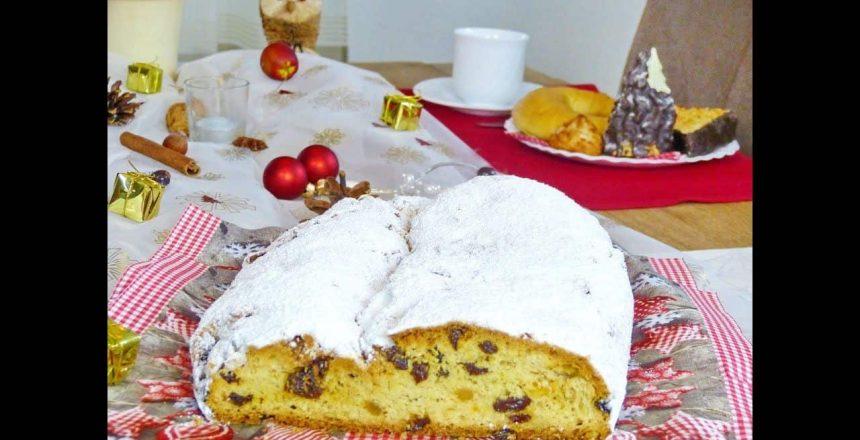 Stollen - Pão de Natal Alemão - Receitas pães Ep. 10