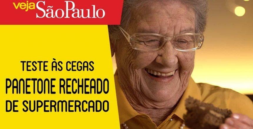 TESTE DO PANETONE RECHEADO DE SUPERMERCADO