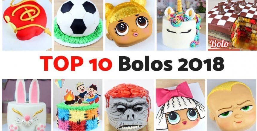 TOP 10 BOLOS 2018 | Compilação de Bolos Incríveis de 2018 | Cakepedia