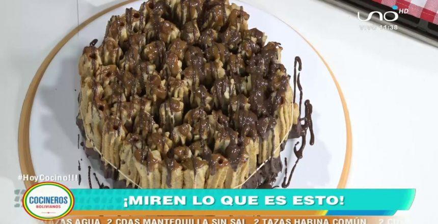TORTA DE CHURROS RELLENOS - Cocinera Arani Canedo