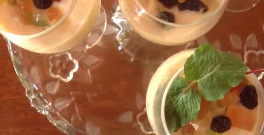 TVC - Saiba como fazer uma receita de Mousse de Panetone