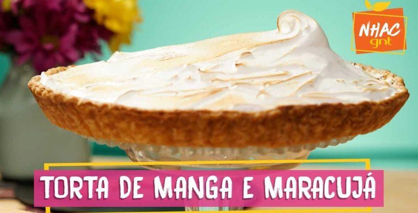 Torta recheada com manga e maracujá | Raíza Costa | Rainha da Cocada