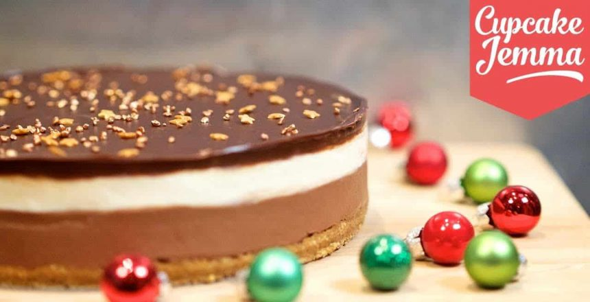 Triple Layer Baileys Cheesecake | Cupcake Jemma