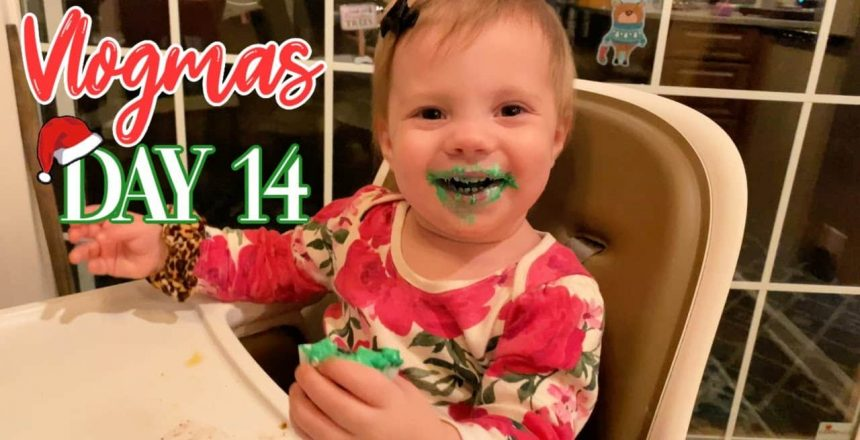 Vlogmas 14 | Gigi and the Great Green Cupcake