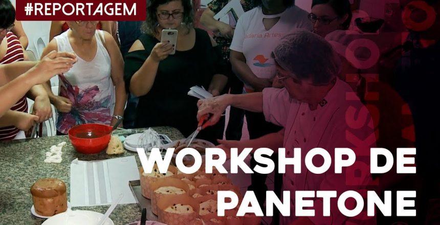 Workshop de panetone é incentivo para renda extra de fim de ano no interior de SP