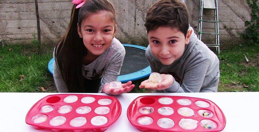 Buz Kırma Oyunu Donmuş Cupcake Challenge Minyonlar Vs Shopkins