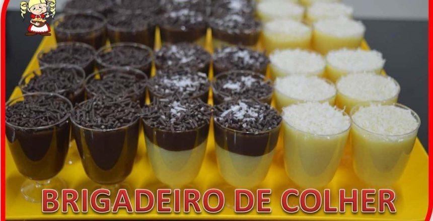 COMO FAZER BRIGADEIRO GOURMET DE COLHER E MINI TORTINHAS DE BRIGADEIRO