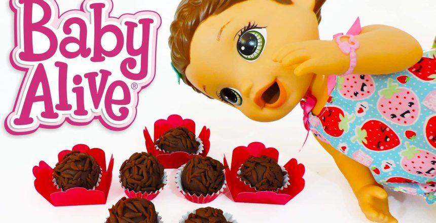 Como Fazer BRIGADEIRO para BABY ALIVE e outras bonecas - BenToysKids