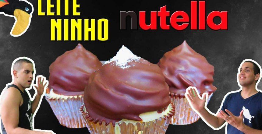 Cupcake de Brigadeiro de Leite Ninho com Nutella - Ep31