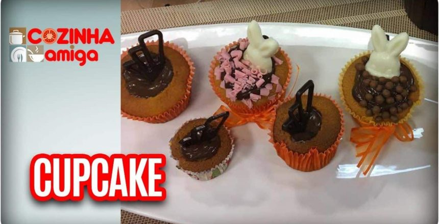 Cupcake de cenoura vulcão - Chef Dalva Zanforlin| Cozinha Amiga (13/04/17)