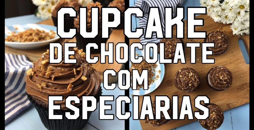 Cupcake de Chocolate com Especiarias - Menu do Chef #04