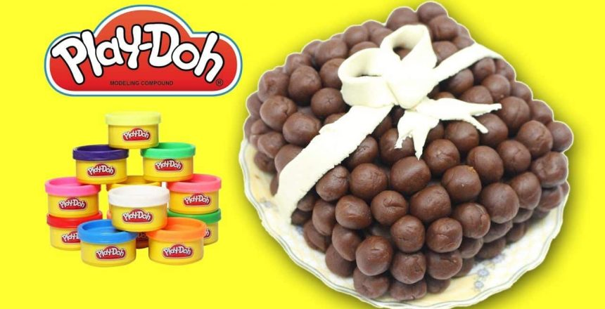 Play-Doh Peppa Pig Bakery Set mickey Make PlayDough Cupcake play doh chocolate cake funny play doh